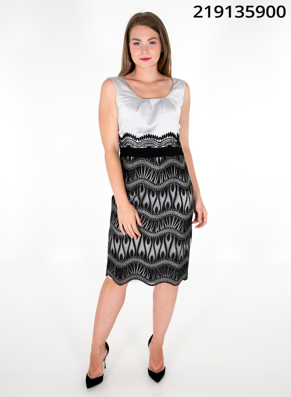Κολακευτικό αμπιγιέ φόρεμα