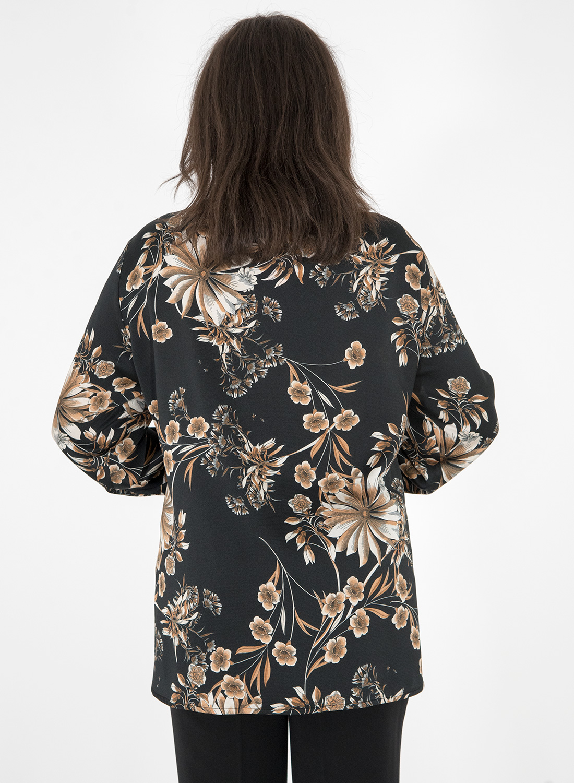 Φλοραλ πουκάμισο με δέσιμο