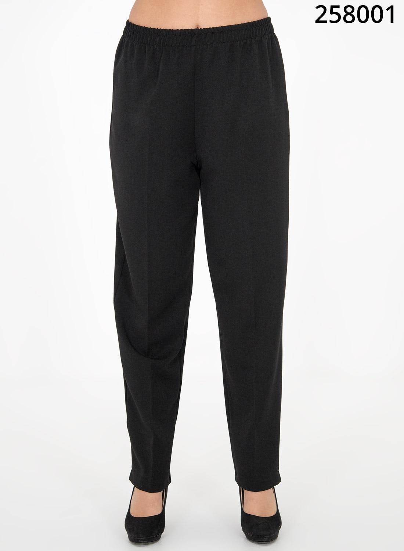 Μαύρο παντελόνι με λάστιχο