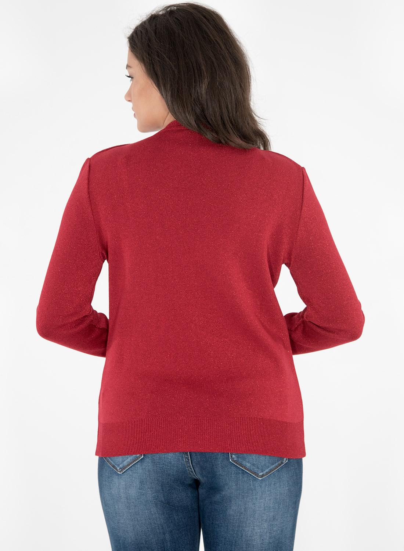 Αστραφτερή κόκκινη μπλούζα