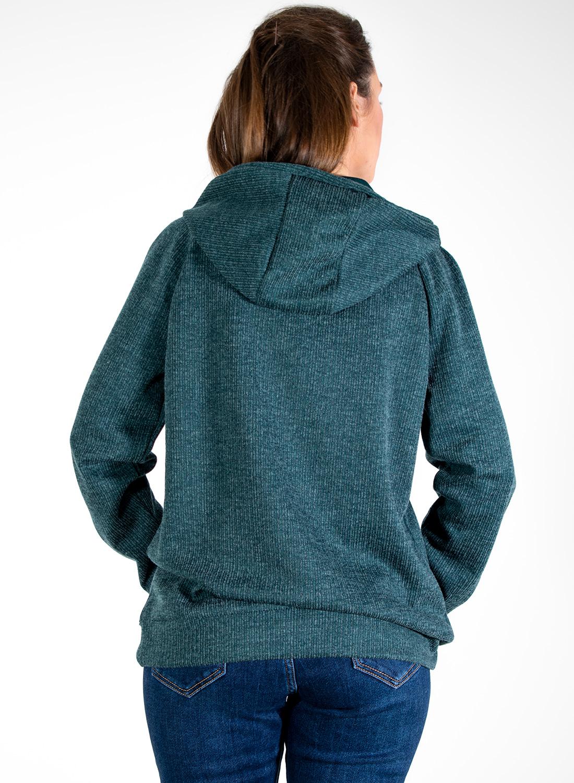 Κυπαρισσί νεανική μπλούζα με κουκούλα