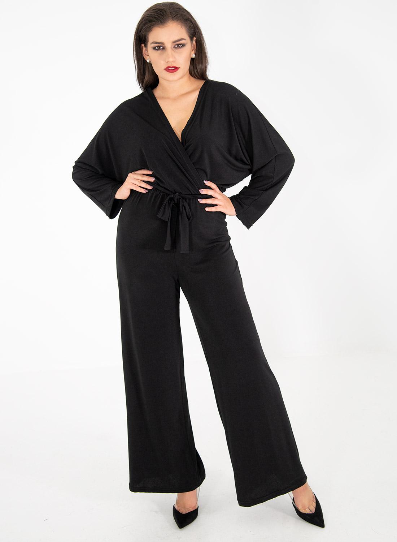 Κρουαζέ ολόσωμη μαύρη φόρμα