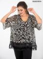 Εντυπωσιακή αμπιγιέ αέρινη μπλούζα