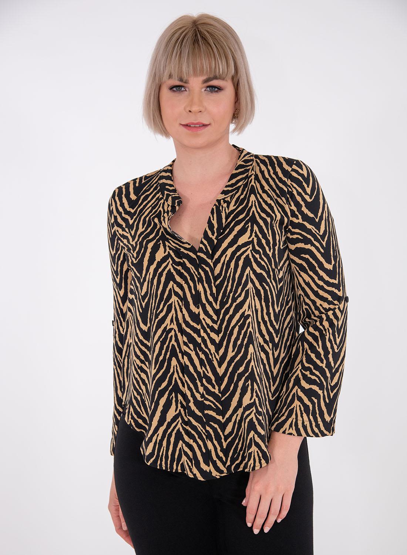 Θηλυκή animal print μπλούζα