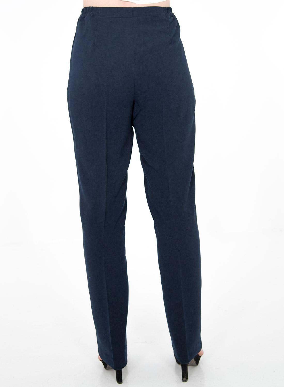 Μπλε παντελόνι με λαστιχάκι δεξιά-αριστερά