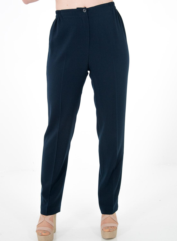 Μπλε παντελόνι με λάστιχο δεξιά-αριστερά