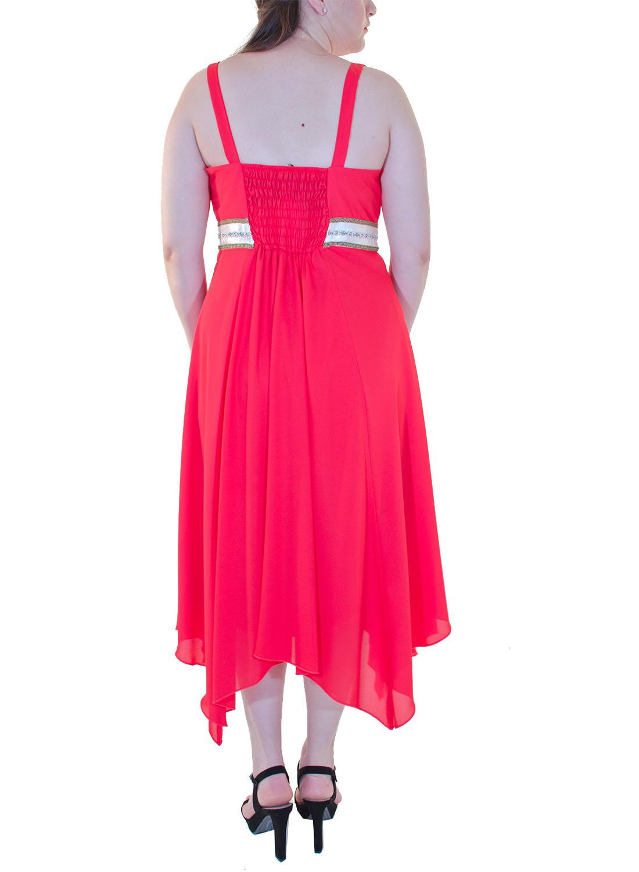 e2179d01e116 Αιθέριο κοραλί φόρεμα