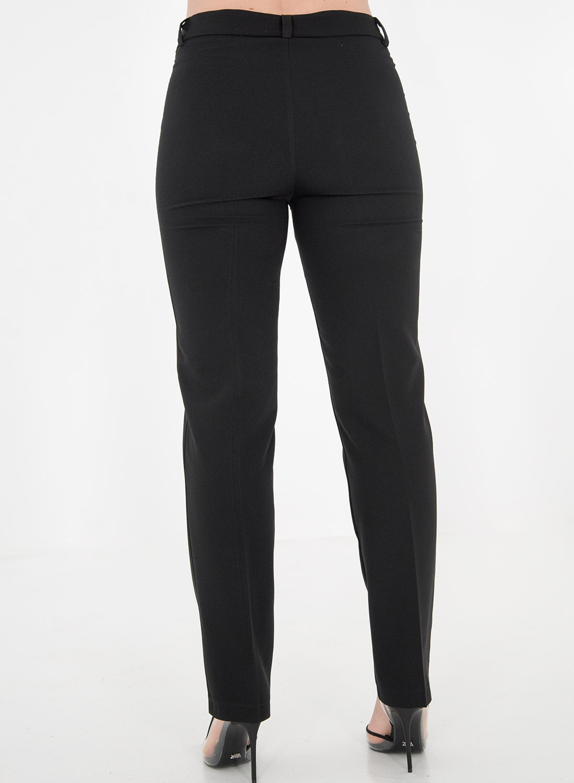 Μαύρο ίσιο παντελόνι