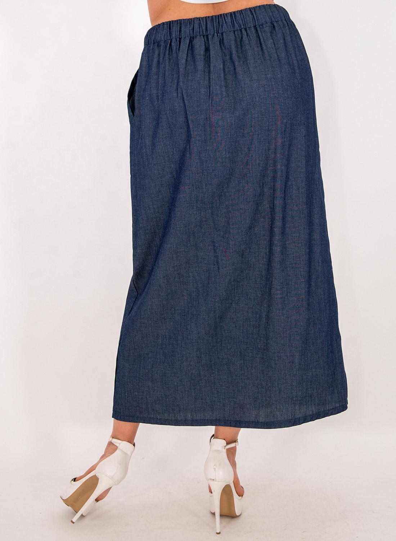 Βαμβακερή μακριά φούστα