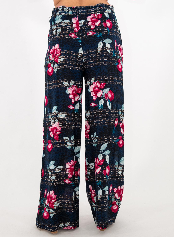 Εμπριμέ φλοράλ παντελόνα