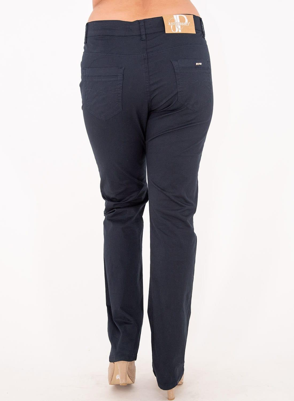 Μπλε βαμβακερό πεντάτσεπο παντελόνι