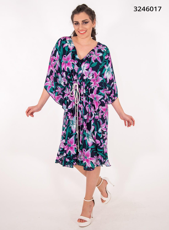 Φλοράλ εμπριμέ φόρεμα
