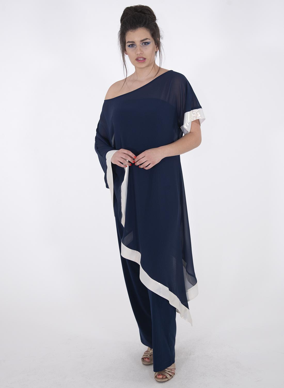 Μπλε αμπιγιέ εντυπωσιακή φόρμα