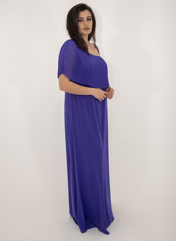 Εντυπωσιακό μακρύ αμπιγιε φόρεμα