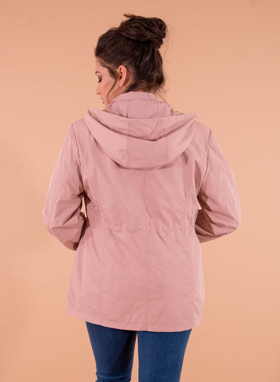 Ανοιξιάτικο μπουφάν σε dusty pink απόχρωση