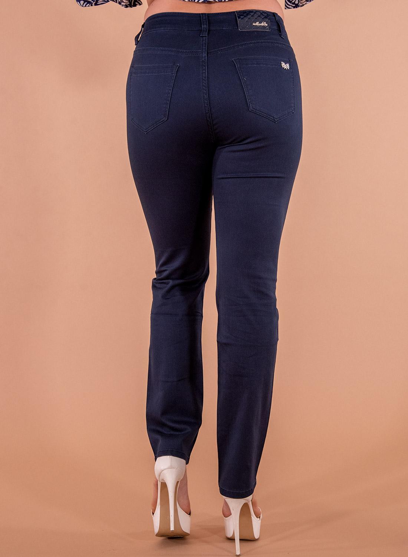 Μπλε πεντάτσεπο παντελόνι