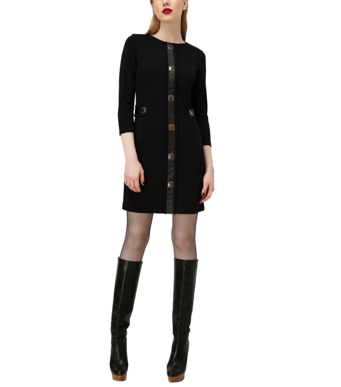 Μαύρο νεανικό φόρεμα