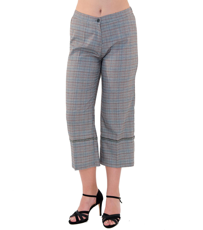 Καρό κάπρι παντελόνι