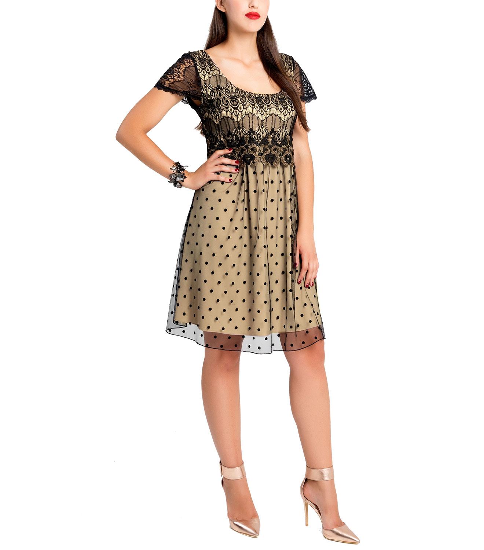 63fbd7a057d9 Εντυπωσιακό φόρεμα με δαντέλα