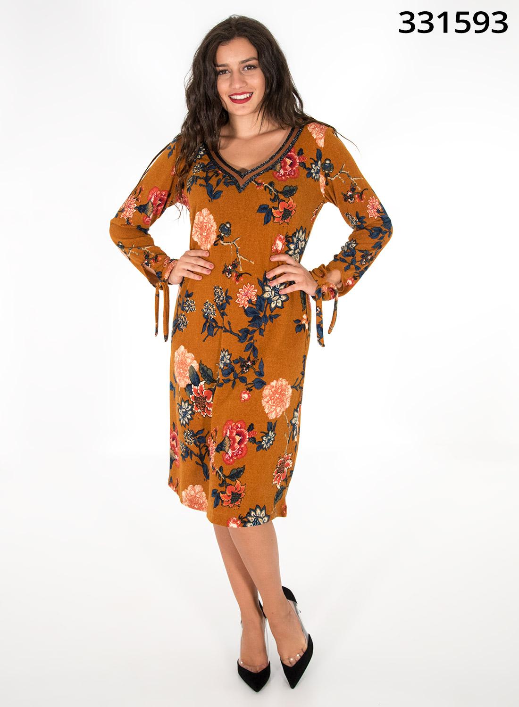 Midi φλοραλ φόρεμα