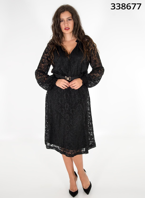 Βραδινό φόρεμα με ζώνη