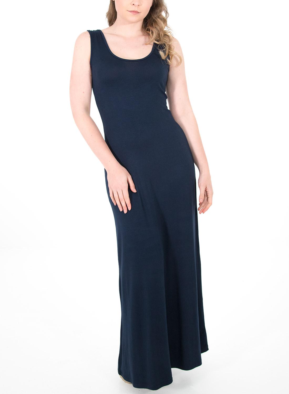 73c0b381402e Μάξι μπλε φόρεμα