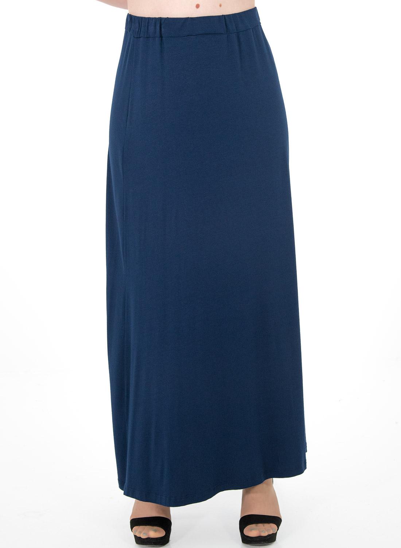 d7c5aca1f4b5 Μάξι μπλε φούστα