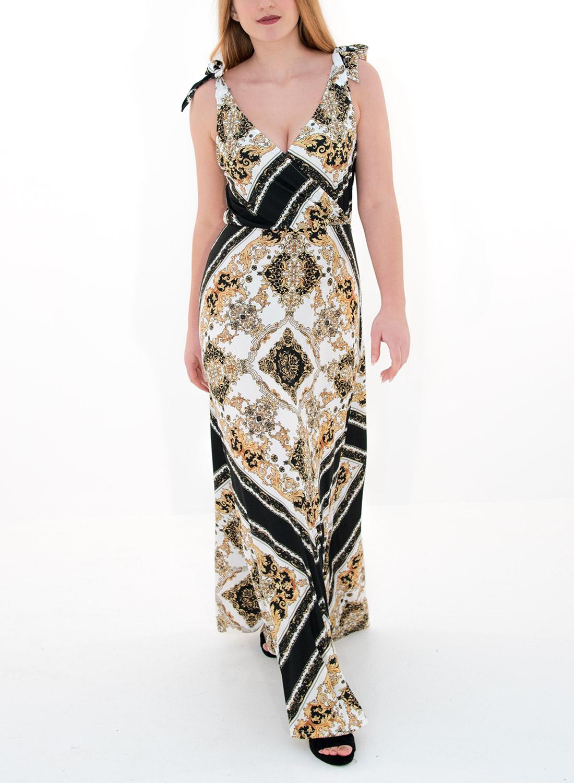 fb367cf5046a Θηλυκό φόρεμα με μοτίβα