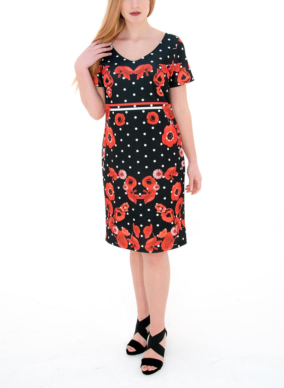 ab6656938c82 Κομψό φόρεμα με λουλούδια