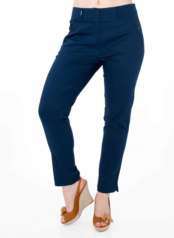 Μπλε βαμβακερό παντελόνι