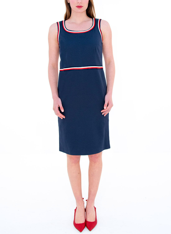 Midi μπλε φόρεμα