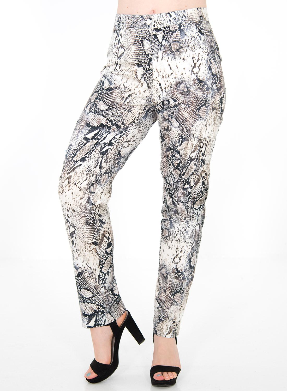 Παντελόνι με animal print σχέδιο