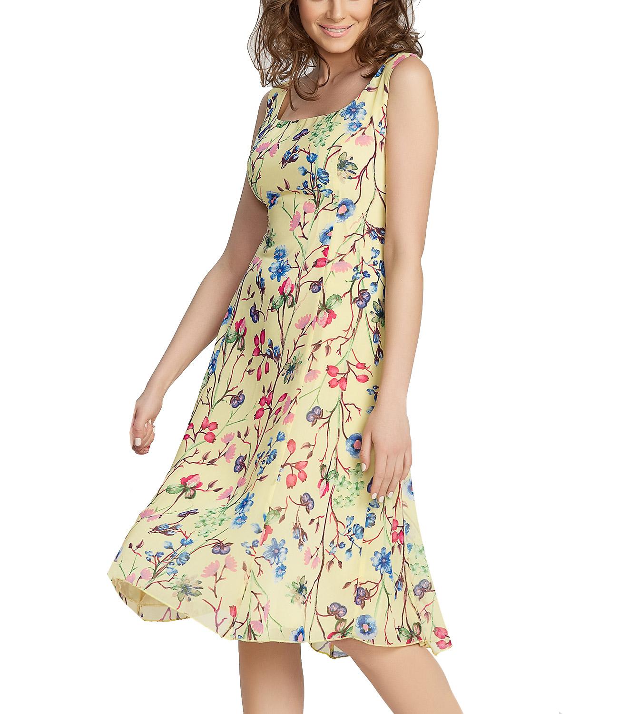 36adc1b7b869 Θηλυκό λουλουδάτο φόρεμα