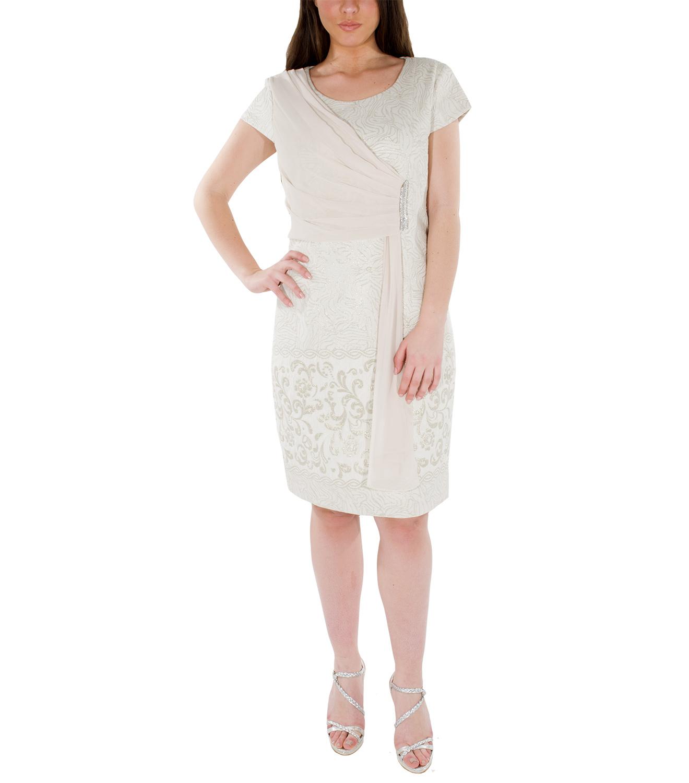 Midi ανάγλυφο φόρεμα