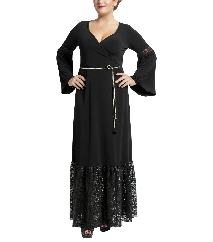 56d9aa59f31f Φόρεμα με λεπτομέρειες δαντέλας