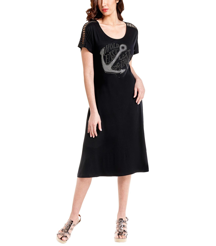 Δροσερό διαχρονικό μαύρο φόρεμα